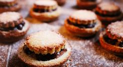 Indy Power's Mince pies with Cinnamon Cream