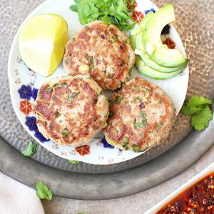 Ginger & Lime Tuna Burgers