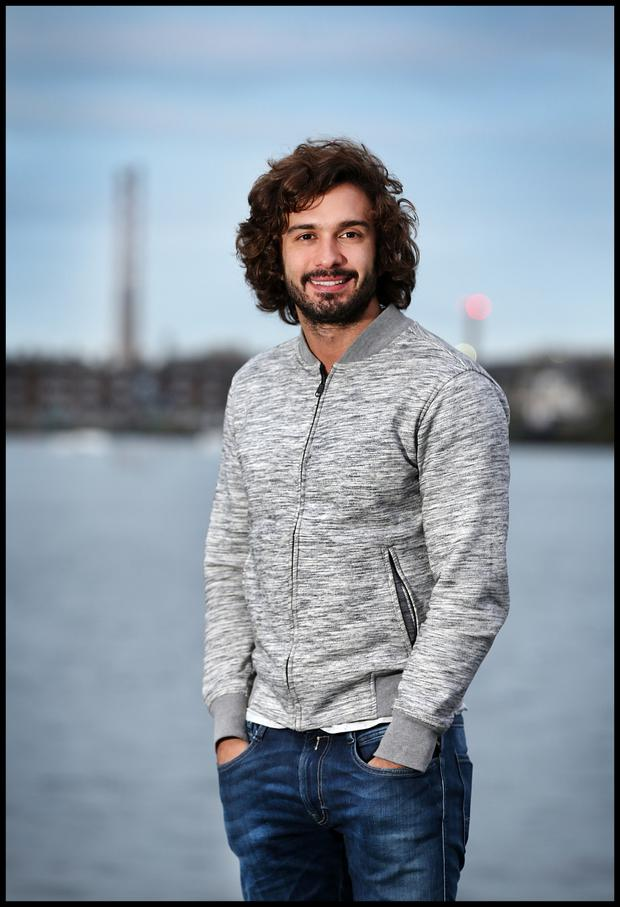 Joe Wicks AKA The Body Coach at The Grand Canal Docks in Dublin. Photo: Steve Humphreys
