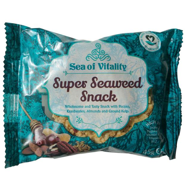 Sea of Vitality seaweed flapjack