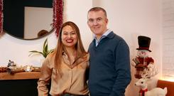 Tasty Christmas: R Suwankeeree and her partner Conor Sexton at their restaurant, Nightmarket in Dublin. Photo: Frank McGrath
