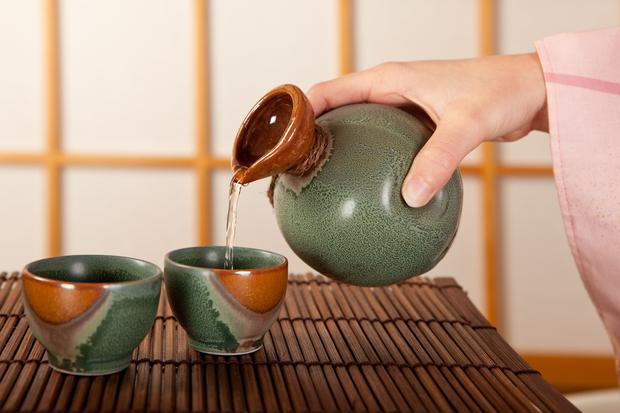 Eastern etiquette: Sake should always be served by the person beside you, and vice versa