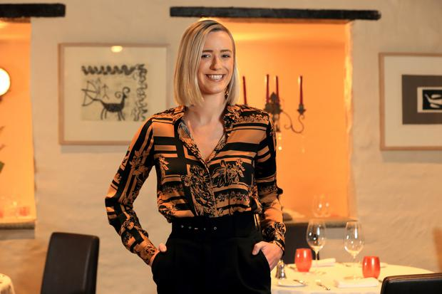 The heat is on: Grainne Mullins, one of Ireland's most promising chefs. Photo: Frank McGrath