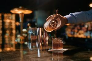 Carton House's Honeycomb Old Fashioned