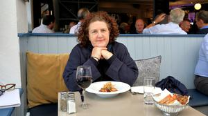 Writer Katy McGuinness dining out at The Chophouse restaurant in Dublin this week. Photo: Frank McGrath