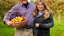 Rod and Judie Calder-poot of Highbank Orchard Syrup