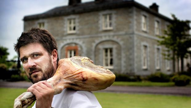 Wowing the Public: Robbie Krawcyzk who is the head chef at Brabazon Restaurant at Tankardstown House, Co Meath Picture By David Conachy