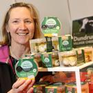 IN THE HEART OF DUBLIN: Edel Murphy, of Dundrum Village Cheese. Photo: Gerry Mooney.