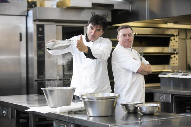 Le winning team: Jim Mulholland is Jean-Christophe Novelli's grand chef at Novelli in Belfast