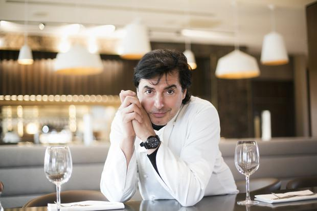 Jean Christophe Novelli In His New Belfast Restaurant At City Quays