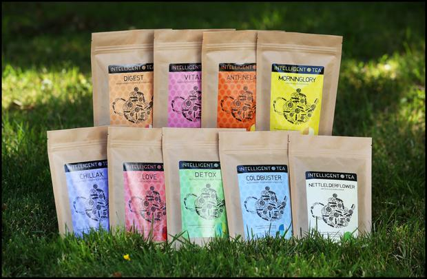 The Intelligent Tea range. Photo: Steve Humphreys