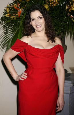 Chef Nigella Lawson, who has said she would eat everything out of a bowl if she could
