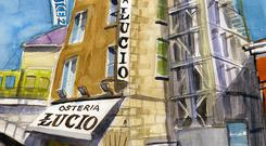 Osteria Lucio at Clanwilliam Terrace.