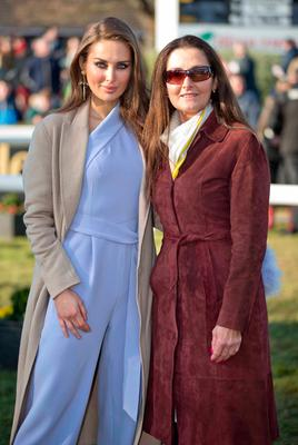 Roz Purcell with her mother Cecily at Leopardstown. Picture: ©INPHO/Morgan Treacy
