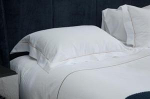 White and Green bedding
