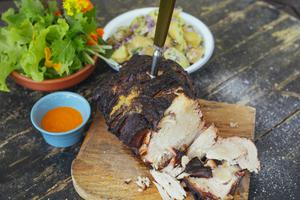 Shoulder of Pork With Curry & Anchovy Paste
