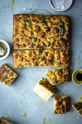 No-Knead Foccaccia. Picture by Sarah Watchorn