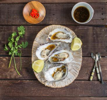 Irish Oysters. Photo: Mark Duggan