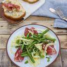 Bresaola and fennel salad. Photo: Mark Duggan