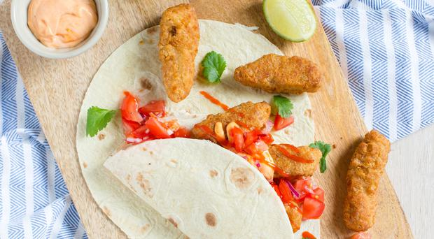 Fish finger tacos. Photo: Mark Duggan