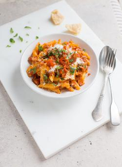 Fennel sausage pasta. Photo: Mark Duggan