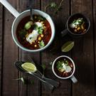 Vegetarian Chilli. Photo: Mark Duggan