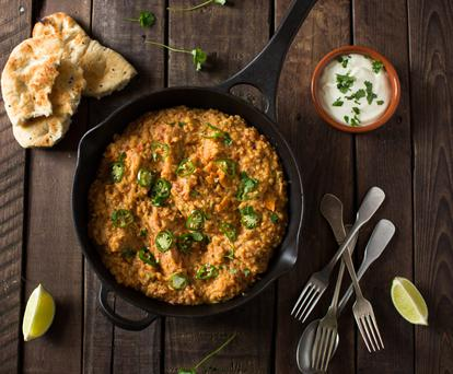 Coconut Dhal. Photo: Mark Duggan