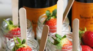 Strawberry Shortcake Pots