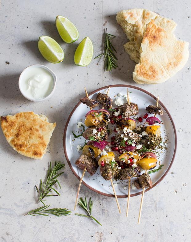 Forkful's easy suppers: Za'atar Beef Skewer - Independent ie