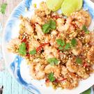 Lime and Ginger Prawns