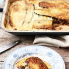 Perfect comfort food: Moussaka