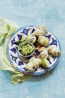 Cabbage Leaves Stuffed with Gochujang and Lime Pork