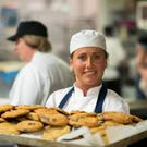 Smart cookies: Apprentice pastry chef Magda Cherubin in the Butler's Pantry, Bray.