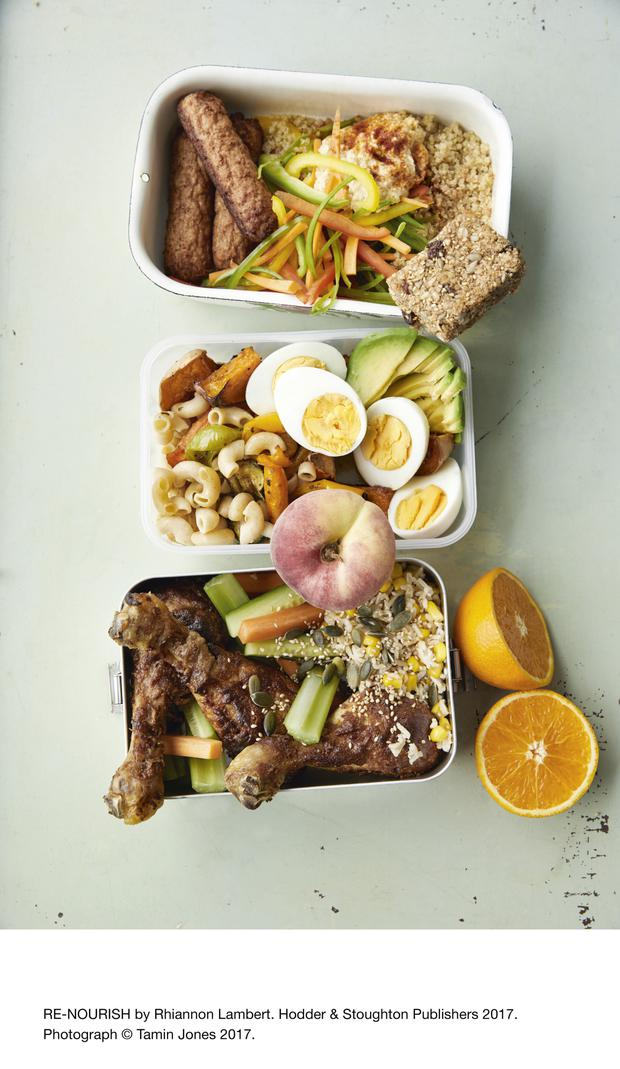 A selection of delicious, healthy lunches
