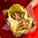Sharon Hearne Smith's pulled pork lettuce cups