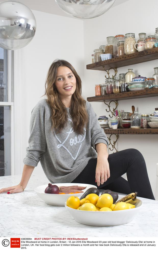 Blog standard: Ella 'Deliciously Ella' Mills Woodward, one of the healthy-eating bloggers The Angry Chef takes aim at