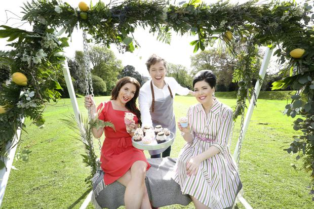 Candice Brown, Sharon Hearne-Smith​ and Adrian Martin​ at the launch of Taste of Dublin