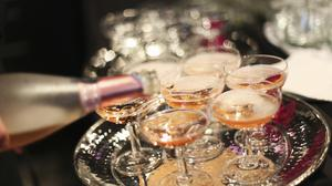 Tickled pink: Rose-tinted Prosecco is set to be a trend for 2020