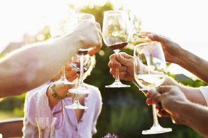 Summer wouldn't be summer without some crisp white wines and pale pink rosés, as well as some delicious reds