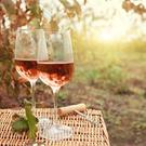 Autumnal roses - think pink when choosing a wine