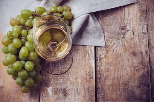 White wine from Portugal.