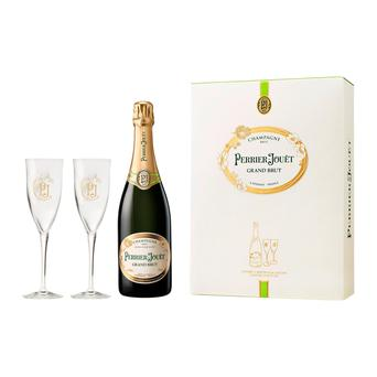 Perrier-Jouët Grand Brut Gift set