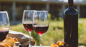 In the red: The Castellani family vineyards extend beyond the Chianti region