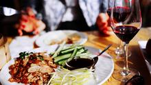 Feasting and good fortune: Pinot noir pairs well with crispy duck pancakes