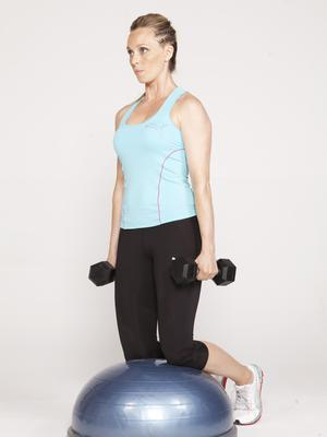 Side lateral on BOSU 1