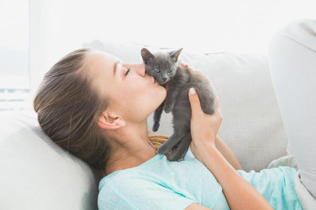 Showing love, even to a pet, can increase feelings of happiness