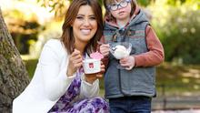 Lottie Ryan and Aaron Duignan, age 6 from Meathpictured in Dublin at the launch of the first HB Hazelbrook Farm Ice Cream Fundays. Photo: Robbie Reynolds