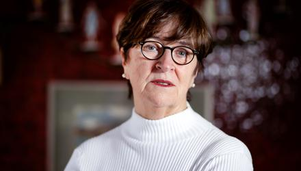 Marie Louise O'Donnell is an Irish academic and broadcaster, who served as a Senator from 2011 to 2020. PHOTO: GERRY MOONEY