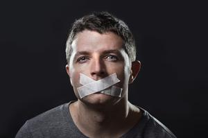 Stock image: Many men who are the victims of sexual abuse find it very difficult to speak out