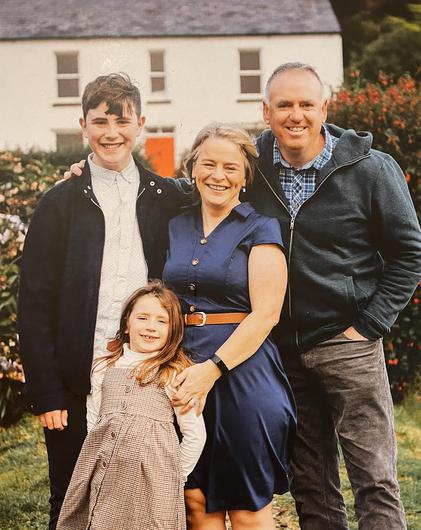 Geraldine Mullan's family pictures of John (49) Tomas (14) and Amelia (6), who tragically lost their lives – Geraldine survived when their car crashed into the Foyle on August 20 last year.
